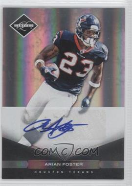 2011 Panini Limited - [Base] - Monikers Silver [Autographed] #39 - Arian Foster /50