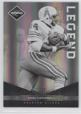 2011 Panini Limited - [Base] - Spotlight Silver #123 - Earl Campbell /50