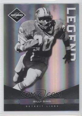 2011 Panini Limited - [Base] - Spotlight Silver #138 - Billy Sims /50