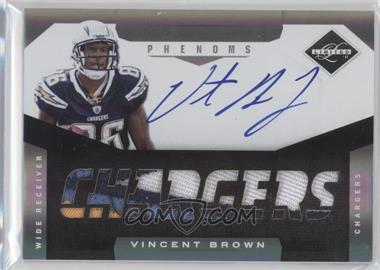 2011 Panini Limited - [Base] - Spotlight Silver #227 - Vincent Brown /25