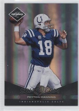 2011 Panini Limited - [Base] - Spotlight Silver #42 - Peyton Manning /50
