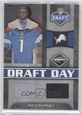 2011 Panini Limited - Draft Day Materials - Combos #9 - Nick Fairley /50