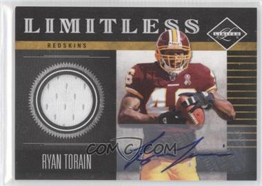 2011 Panini Limited - Limitless - Threads Signatures [Autographed] #22 - Ryan Torain /25