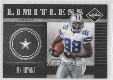 2011 Panini Limited - Limitless #11 - Dez Bryant /249