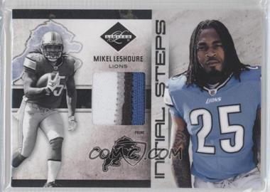 2011 Panini Limited Initial Steps Materials Jerseys Prime #1 - Mikel Leshoure /25
