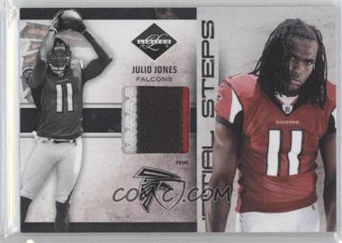 2011 Panini Limited Initial Steps Materials Jerseys Prime #12 - Julio Jones /25