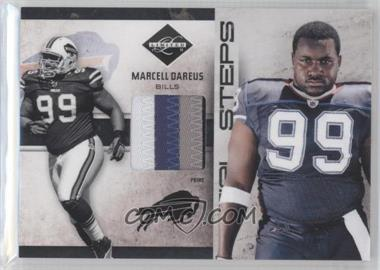 2011 Panini Limited Initial Steps Materials Jerseys Prime #19 - Marcell Dareus /25
