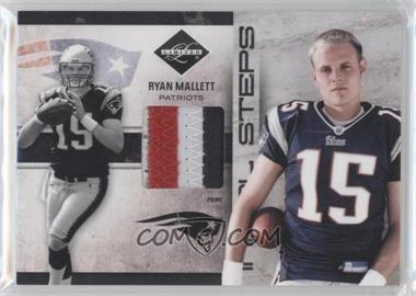 2011 Panini Limited Initial Steps Materials Jerseys Prime #25 - Ryan Mallett /25
