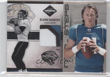 2011 Panini Limited Initial Steps Materials Jerseys Prime #27 - Blaine Gabbert /25