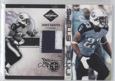 2011 Panini Limited Initial Steps Materials Jerseys Prime #3 - Jamie Harper /25