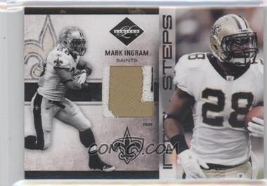 2011 Panini Limited Initial Steps Materials Jerseys Prime #7 - Mark Ingram /25