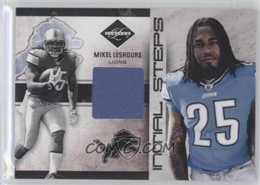 2011 Panini Limited Initial Steps Materials Jerseys #1 - Mikel Leshoure /99