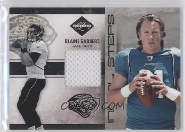 2011 Panini Limited Initial Steps Materials Jerseys #27 - Blaine Gabbert /99