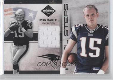 2011 Panini Limited Initial Steps Materials Shoes #25 - Ryan Mallett /99