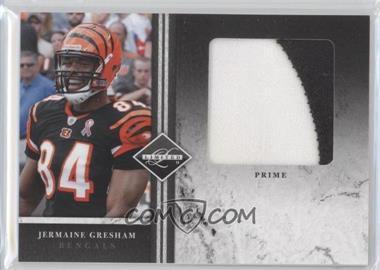 2011 Panini Limited Jumbo Materials Prime #13 - Jermaine Gresham /15