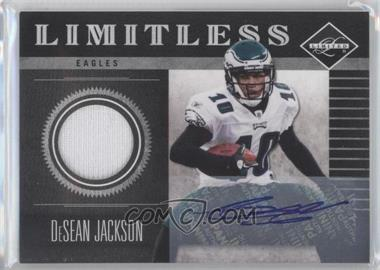 2011 Panini Limited Limitless Threads Signatures [Autographed] #10 - DeSean Jackson /20