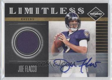 2011 Panini Limited Limitless Threads Signatures [Autographed] #14 - Joe Flacco /20