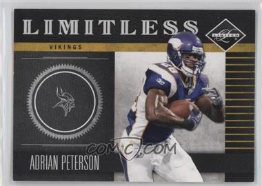 2011 Panini Limited Limitless #18 - Adrian Peterson /249