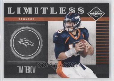 2011 Panini Limited Limitless #2 - Tim Tebow /249