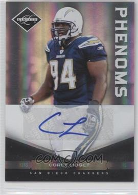 2011 Panini Limited Monikers Silver [Autographed] #160 - Corey Liuget /199
