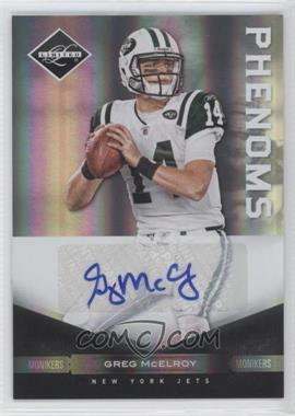 2011 Panini Limited Monikers Silver [Autographed] #167 - Greg McElroy /199