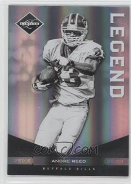 2011 Panini Limited Spotlight Silver #102 - Andre Reed /50