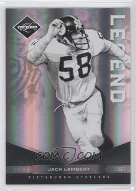 2011 Panini Limited Spotlight Silver #105 - Jack Lambert /50