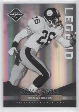 2011 Panini Limited Spotlight Silver #115 - Rod Woodson /50