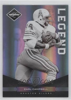 2011 Panini Limited Spotlight Silver #123 - Earl Campbell /50