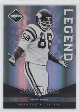 2011 Panini Limited Spotlight Silver #128 - Alan Page /50