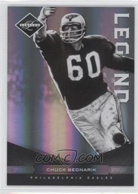 2011 Panini Limited Spotlight Silver #140 - Chuck Bednarik /50