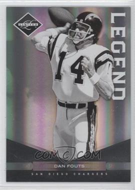 2011 Panini Limited Spotlight Silver #143 - Dan Fouts /50