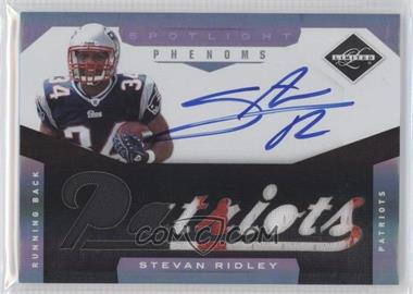 2011 Panini Limited Spotlight Silver #223 - Stevan Ridley /25