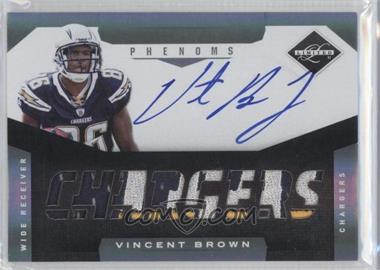 2011 Panini Limited Spotlight Silver #227 - Vincent Brown /25