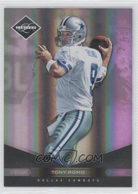 2011 Panini Limited Spotlight Silver #28 - Tony Romo /50