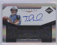 Material Phenoms RC - Jake Locker /199 [Near Mint‑Mint]