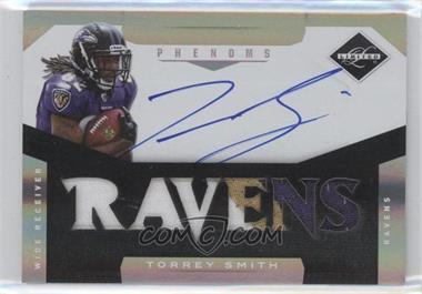 2011 Panini Limited #218 - Material Phenoms RC - Torrey Smith /299
