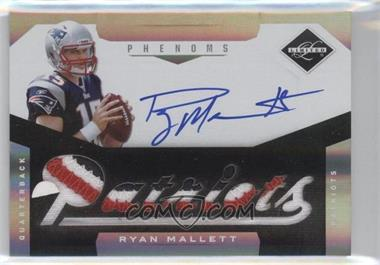 2011 Panini Limited #224 - Material Phenoms RC - Ryan Mallett /199