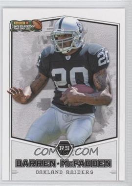2011 Panini NFL Player of the Day [???] #POD8 - Darren McFadden