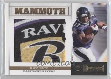 2011 Panini Playbook Mammoth Materials Prime #30 - Ray Rice /25