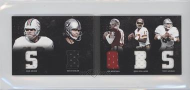 2011 Panini Playbook Materials Booklet #14 - Joe Montana, Bob Griese, Doug Williams, Ken Stabler, Troy Aikman /49