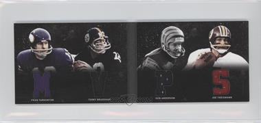 2011 Panini Playbook Materials Booklet #17 - Fran Tarkenton, Joe Theismann, Terry Bradshaw, Ken Anderson /49