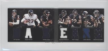 2011 Panini Playbook Materials Booklet #20 - Devin Hester, Johnny Knox, Lance Briggs, Marion Barber III, Matt Forte, Brian Urlacher, Jay Cutler /49