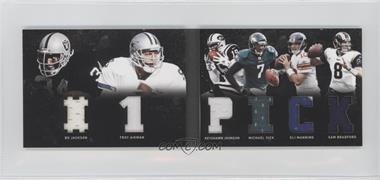 2011 Panini Playbook Materials Booklet #30 - Keyshawn Johnson, Michael Vick, Bo Jackson, Eli Manning, Sam Bradford, Troy Aikman /49