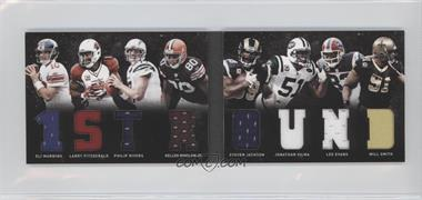 2011 Panini Playbook Materials Booklet #33 - Kellen Winslow Jr., Eli Manning, Jonathan Vilma, Larry Fitzgerald, Lee Evans, Philip Rivers, Steven Jackson, Will Smith /20