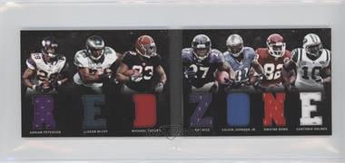 2011 Panini Playbook Materials Booklet #4 - Adrian Peterson, Calvin Johnson Jr., Dwayne Bowe, Ray Rice, LeSean McCoy, Michael Turner, Santonio Holmes /49