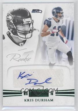 2011 Panini Playbook Rookie Signatures Green #75 - Kris Durham /5
