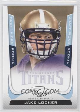 2011 Panini Prestige - [Base] - Draft Picks Light Blue #247 - Jake Locker /999