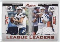 Philip Rivers, Peyton Manning /200