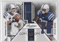 Peyton Manning, Reggie Wayne /250